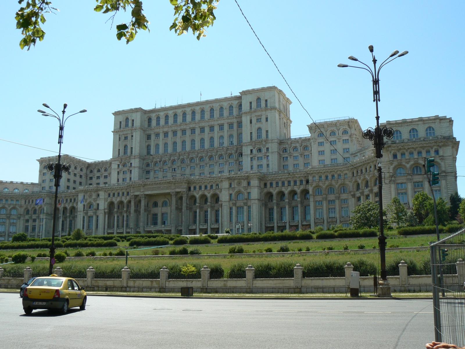 Парламента в столицата на Румъния