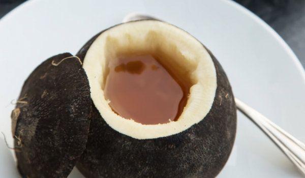 Сок от черна ряпа с мед срещу суха и влажна кашлица